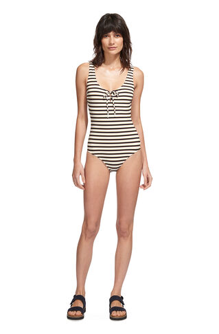 Stripe San Diego Swimsuit, in Multicolour on Whistles