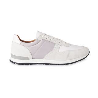 Leather And Suede Runners, in White on Whistles