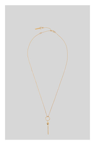 Drop Post Pendant, in Gold on Whistles