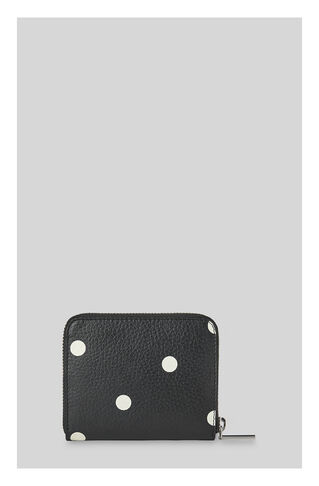 Limited Spot Square Wallet, in Black on Whistles