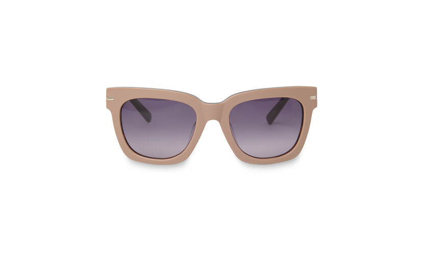 Anna Chunky D Frame Sunglasses, in Pink on Whistles