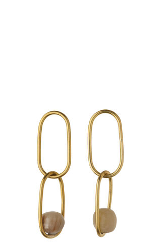 Soko Linked Sawa Drop Earring, in Gold on Whistles