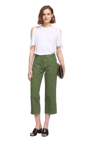 Cargo Pocket Trouser, in Khaki on Whistles