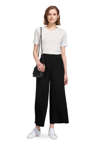 Stitch Fluid Crop Trouser, in Black on Whistles