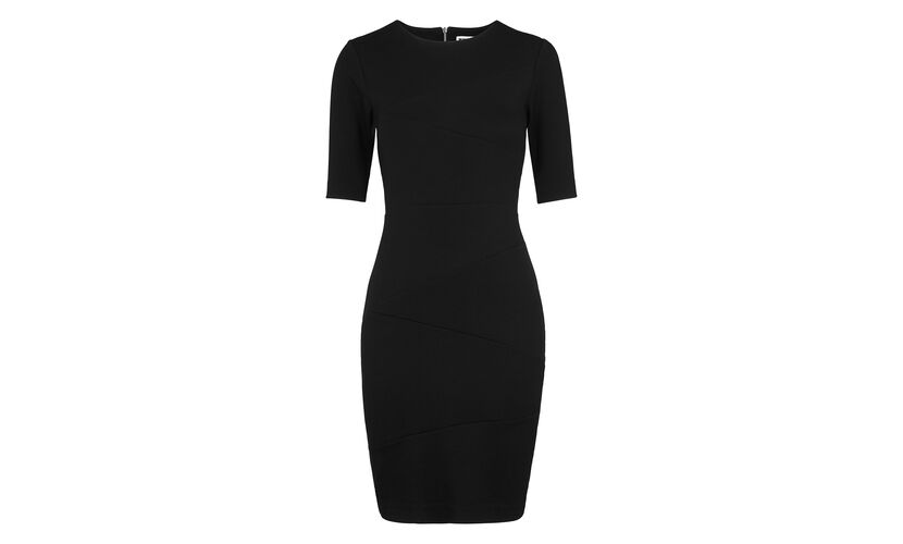 Kerry Jersey Bandage Dress, in Black on Whistles