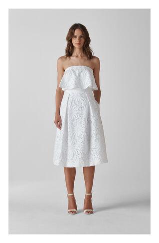 Vivian Wedding Dress, in Ivory on Whistles