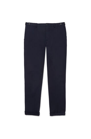 Slim-Fit Stretch Chinos, in Navy on Whistles