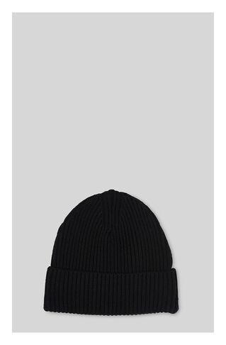 Merino Wool Beanie, in Black on Whistles