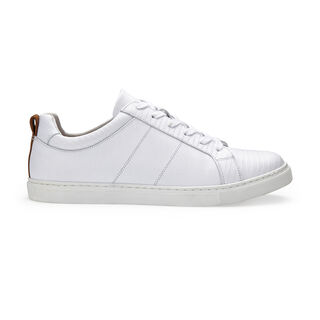 Koki Modern Lace Up Trainer, in White on Whistles