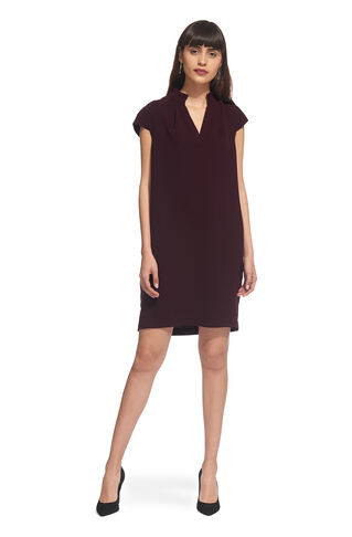 Daris Cocoon Dress, in Fig on Whistles