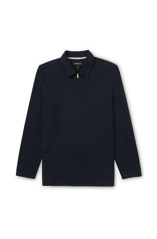 Overhead Relaxed Fit Shirt, in Navy on Whistles
