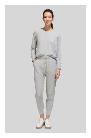 Waffle Lounge Jogger, in Grey Marl on Whistles