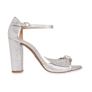 Thurza Ring Detail Heel, in Silver on Whistles