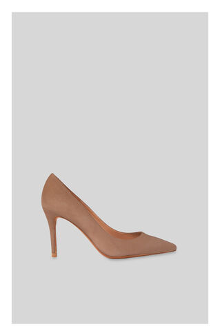 Cornel Suede Point Pump, in NUDE on Whistles