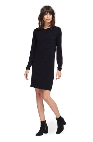 Annie Sparkle Knit Dress, in Navy on Whistles