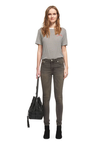 Grey Skinny Jean, in Grey on Whistles