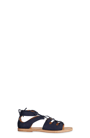 Elba D-Ring Sandal, in Navy on Whistles