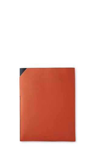 Leather Tablet Case, in Orange on Whistles