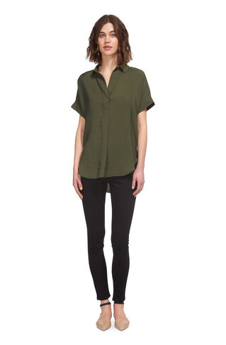 Karina Casual Shirt, in Khaki on Whistles