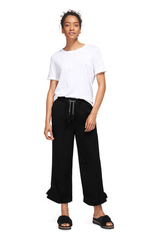 Boho Trim Trouser, in Black on Whistles