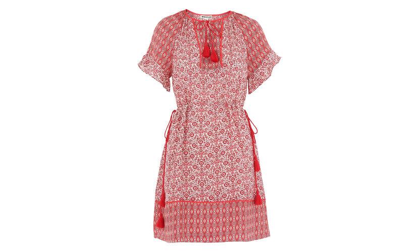 Juana Alisha Print Dress, in Pink/Multi on Whistles