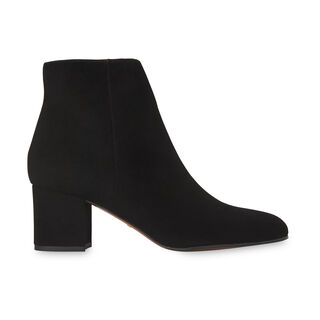 Logan Square Toe Suede Boot, in Black on Whistles