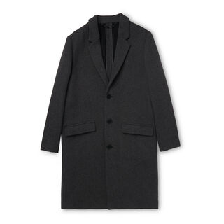 Deconstructed Overcoat, in Dark Grey on Whistles