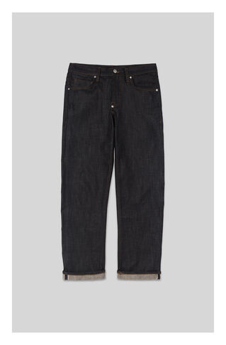 Raw Selvedge Slim-Fit Jeans, in Denim on Whistles