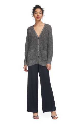 Sparkle Cardigan Knit, in Silver on Whistles