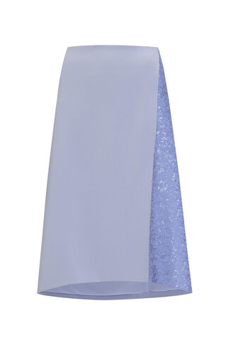 Shina Embellished Skirt, in Lilac on Whistles