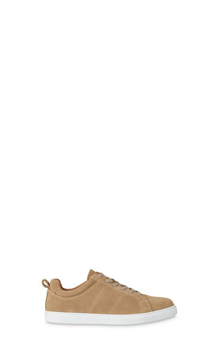 Koki Modern Lace Up Trainer, in Camel on Whistles