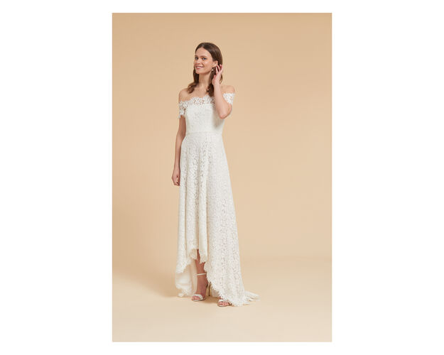 Rose Wedding Dress In Ivory On Whistles