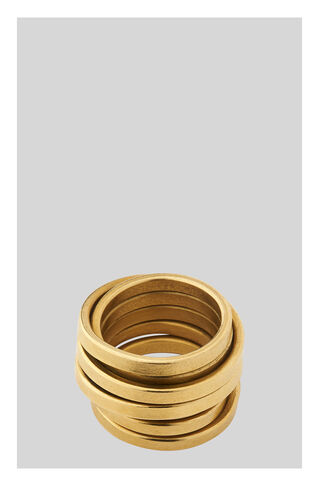 Made Shiny Birds Nest Ring, in Gold on Whistles