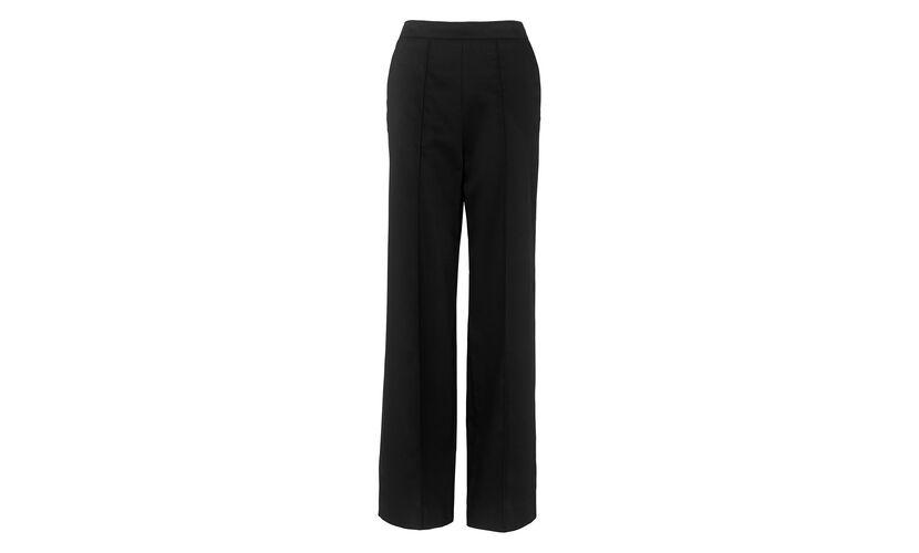 Aurelie Wide Leg Trousers, in Black on Whistles