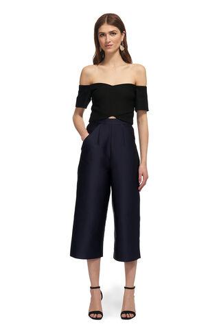 Marina Cross Jumpsuit, in Black/Multi on Whistles