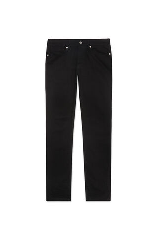 Black/Black Slim-Fit Jeans, in Black on Whistles