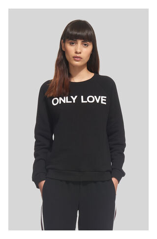 Only Love Sweatshirt, in Black on Whistles