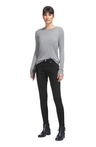 Stirrup Skinny Jean, in Black on Whistles