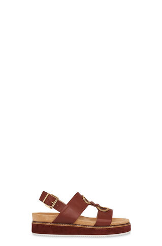 Ring Firth Footbed Sandal, in Tan on Whistles