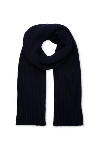 Sunray Knitted Scarf, in Navy on Whistles