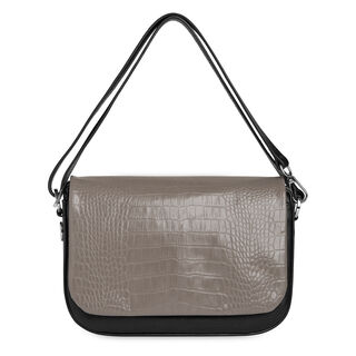 Arion Croc Front Bag, in Grey on Whistles