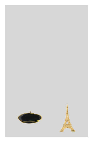 Eiffel Tower Beret Pin Pack, in Gold on Whistles