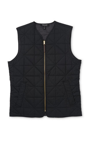 Quilted Bodywarmer, in Black on Whistles