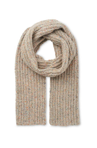 Donegal Wool Blend Scarf, in Cream/Multi on Whistles