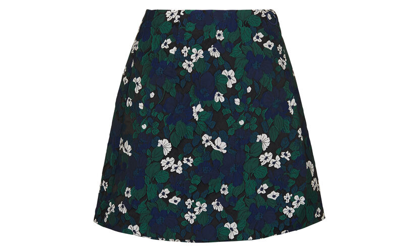 Pansy Jacquard Skirt, in Multicolour on Whistles
