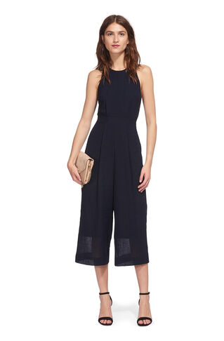 Cecilia Jumpsuit, in Navy on Whistles