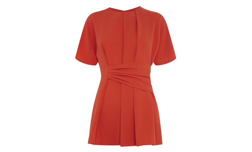 Marisa Drape Top, in Red on Whistles