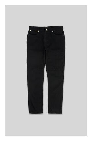 True Black Slim-Fit Jeans, in Black on Whistles