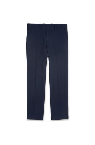 Slim-Fit Waffle Trousers, in Navy on Whistles
