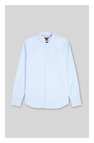Oxford Slim Fit Shirt, in Blue on Whistles
